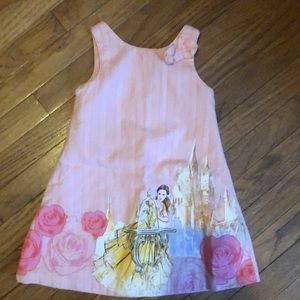 Disney pink beauty and the beast dress